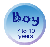 Boy 7 to 10