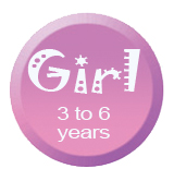 Girl 3 to 6