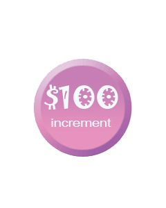 Donate Today Increments of $100