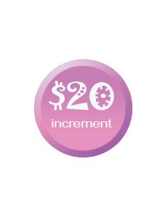 Donate Today Increments of $20