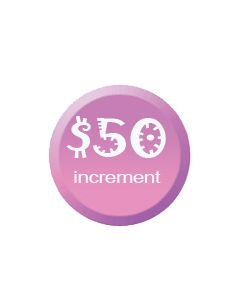 Donate Today Increments of $50