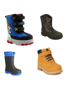 Boys Boots 7.5 Child to 13.5 Child
